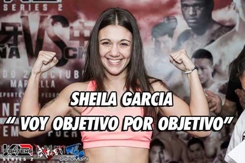 Photo of Sheila Garcia » Voy objetivo por objetivo «