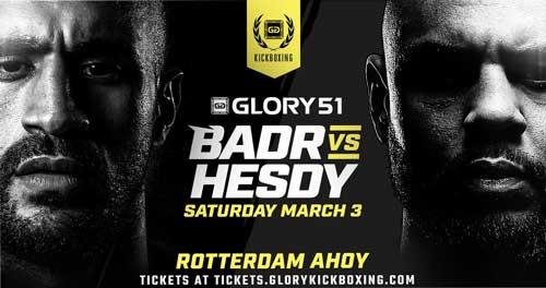 Photo of Badr Hari vs. Hesdy Gerges II para Glory 51