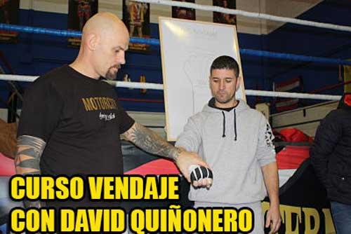 Photo of Asistimos al curso de vendaje de David Quiñonero