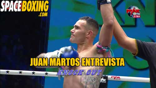 Photo of Juan Martos » Fuí a entrenar y acabé peleando en Max Muay Thai»
