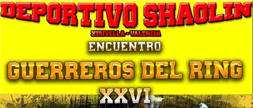 Photo of GUERREROS DE RING XXVI  DEPORTIVO SHAOLIN XIRIVELLA VALENCIA