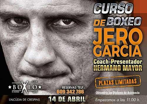 Photo of Master Class con Jero Garcia el 14 de Abril en Club Boxeo Noble Arte