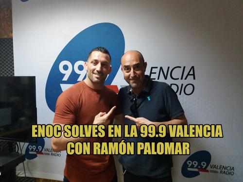 Photo of ENOC SOLVES EN LA 99.9 VALENCIA CON RAMÓN PALOMAR