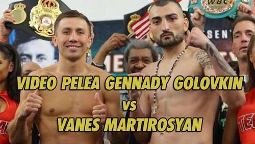 Photo of Gennady Golovkin vence por KO en el 2º a  Vanes Martirosyan