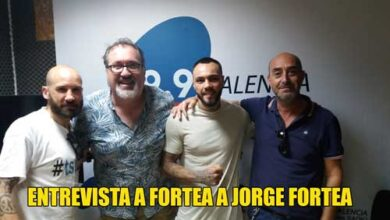 Photo of ENTREVISTA A JORGE FORTEA EN VALENCIA RADIO