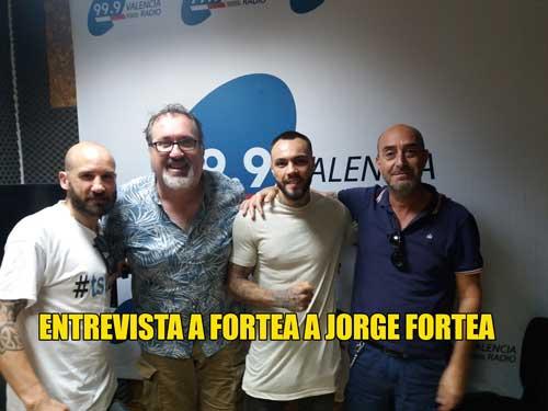 Photo of ENTREVISTA A JORGE FORTEA EN VALENCIA RADIO