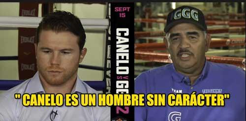 """Photo of El entrenador de GGG dice que """" Canelo es un hombre sin carácter"""""""