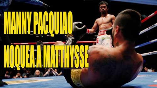Photo of Manny Pacquiao Noquea A Matthysse, y recupera El Título De La AMB