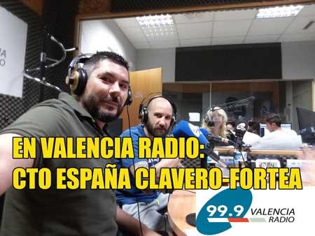 Photo of En Valencia Radio con Sento hablando del Cto España Clavero-fortea