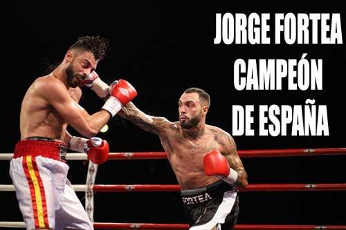Photo of Jorge Fortea Campeón de España