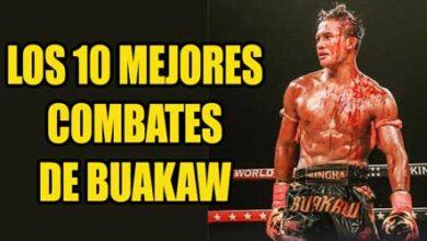 Photo of Los 10 mejores combates de Buakaw