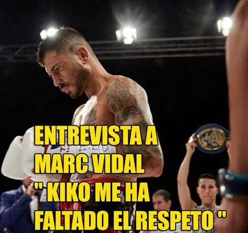 Photo of Marc Vidal » Kiko me ha faltado al respeto «