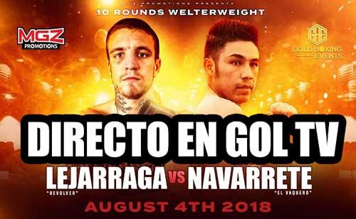Photo of Kerman Lejarraga vs. Jhonny Navarrete, boxeo en directo, GOL TV