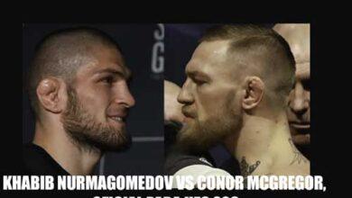 Photo of Se anuncia Khabib Nurmagomedov vs Conor McGregor, oficial para UFC