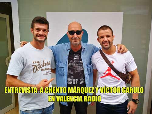 Photo of CHENTO MÁRQUEZ Y VíCTOR GARULO EN VALENCIA RADIO CON RAMÓN PALOMAR