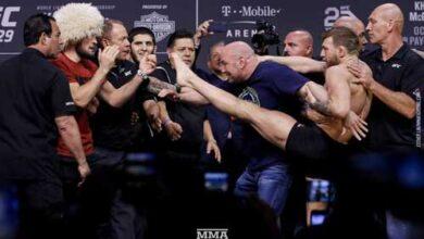 Photo of UFC 229 RESULTADOS PESAJE OFICIAL