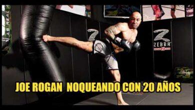 Photo of JOE ROGAN CON 20 AÑOS NOQUEANDO EN TAEKWONDO