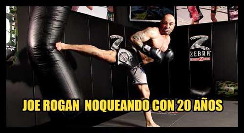 Photo of JOE ROGAN CON 20 AÑOSNOQUEANDO EN TAEKWONDO