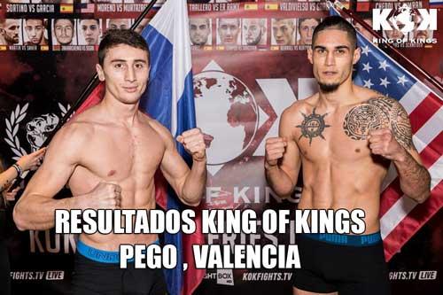 Photo of RESULTADOS KING OF KINGS EN PEGO, VALENCIA