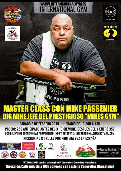 Photo of Mike Passenier visitará Internacional Gym