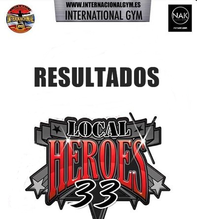 Photo of Resultados Local Heroes 33
