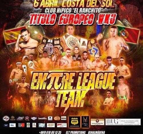 """Photo of Resultados Empire League Team: """"Daniel Dekkers vence por KO en el 3º """""""