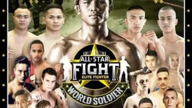 "Photo of Competidores españoles en el ""All Star Fight"""