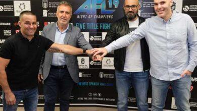 Photo of AFL MMA de alto voltaje en Gran Canaria