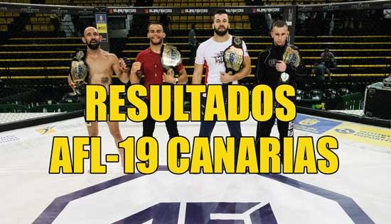 Photo of Resultados AFL-19 Canarias