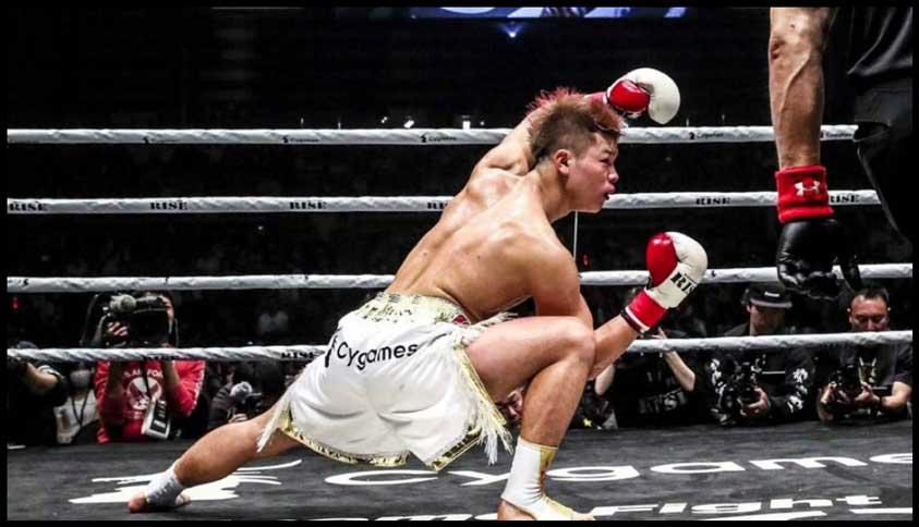 Photo of Tenshin Nasukawa noquea al estilo Dragonball Z -Video