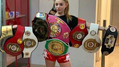 Photo of Paula Silva, una campeona de MuayThai