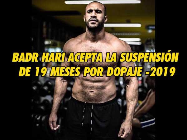 Photo of Badr Hari acepta la suspensión de 19 meses por dopaje -2019