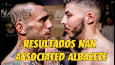 Photo of Resultados Nak Associated Albacete- Fight Club