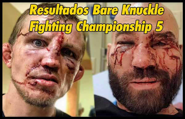 Photo of Bare Knuckle Fighting Championship 5 Resultados