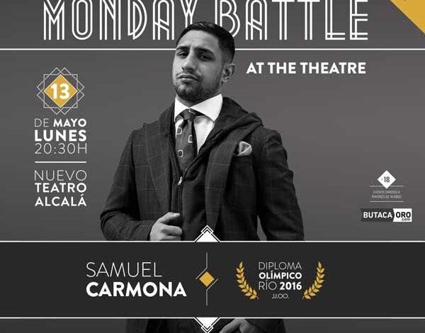 Photo of Samuel Carmona estará en The Monday Battle