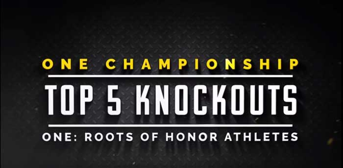 Photo of Top 5 Knockouts de ONE: ROOTS OF HONOR Athletes