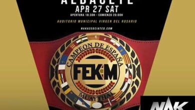 Photo of Muay Thai, el Boxeo y K1  llega a Albacete-Nak Associated