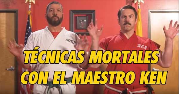 Photo of Aprende técnicas mortales con el maestro Ken