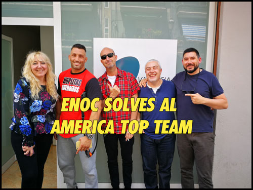 Photo of Enoc Solves «Quiero cumplir un sueño en America Top Team «