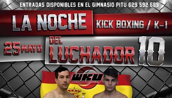 Photo of Noche del Luchador X con el Campeonato Nacional de WKU
