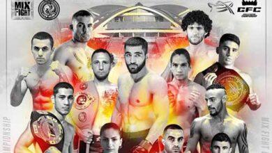 Photo of Mix Fight 42 en Armenia el 6 de Julio 2019
