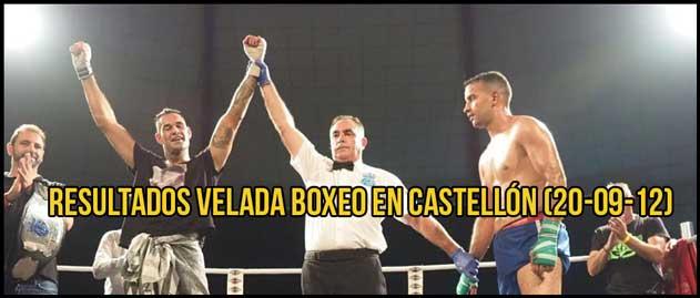 Photo of RESULTADOS VELADA BOXEO EN CASTELLÓN (20-09-12)