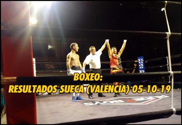 Photo of Boxeo: Resultados Sueca (Valencia) 05-10-19