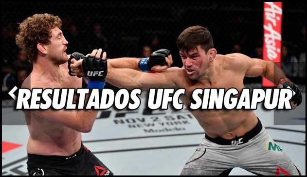 Photo of RESULTADOS UFC SINGAPUR: EL TRIUNFO DE DEMIAN MAIA