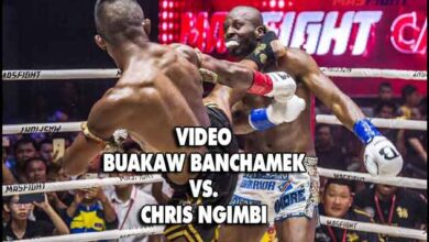 Photo of Video: BUAKAW vence a Chris NGIMBI en Mass Fight