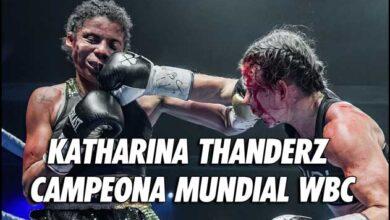 Photo of Katharina Thanderz gana el título mundial después de la sangrienta batalla con Ramos
