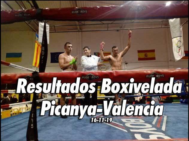 Photo of Resultados y Videos Boxivelada en  Picanya-Valencia 16-11-19