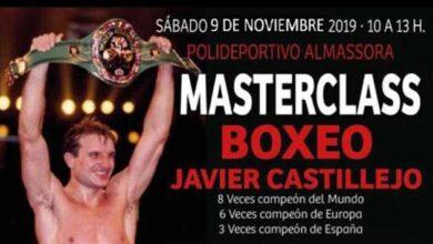 Photo of MASTERCLASS DE BOXEO CON JAVIER CASTILLEJO- EN A.C.D 12 MONOS