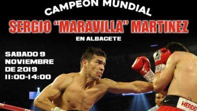 Photo of SERGIO «MARAVILLA» MARTÍNEZ EN ALBACETE