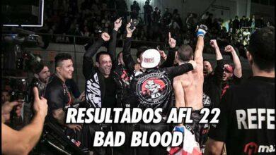 Photo of RESULTADOS AFL 22- BAD BLOOD